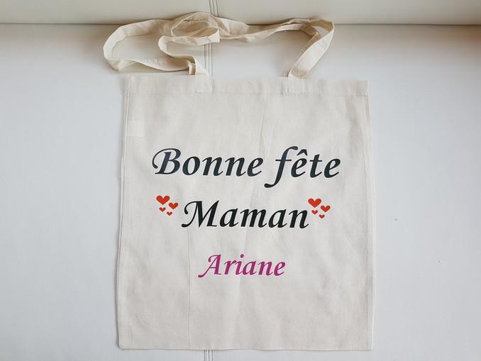Sac Tote Bag personnalisé pour la fête des mères