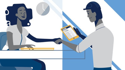 Uniphi-Time Management 2D animation