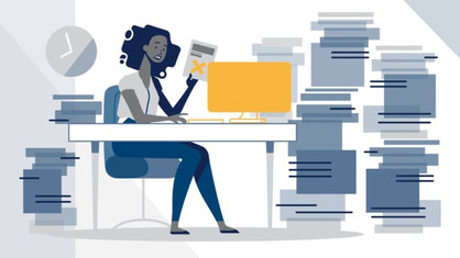 Uniphi-Document Collaboration 2D animation