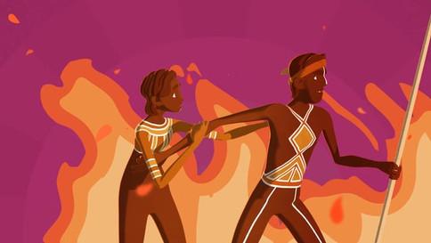 Burning Mountain- A Wonnarua Tribe Story