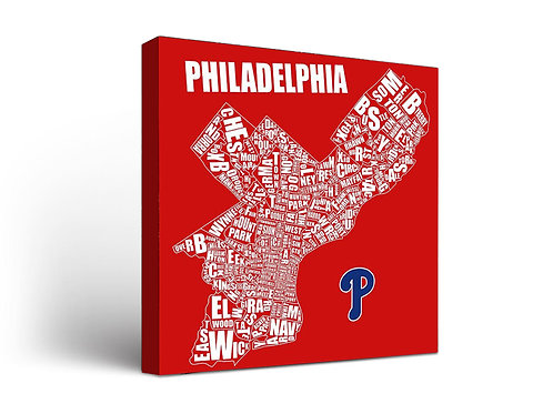 Philadelphia Neighborhood Phillies Red