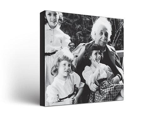 Albert Einstein With Kids