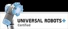 UR certified logo universal robotics