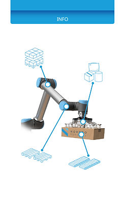 Features for palletizing software