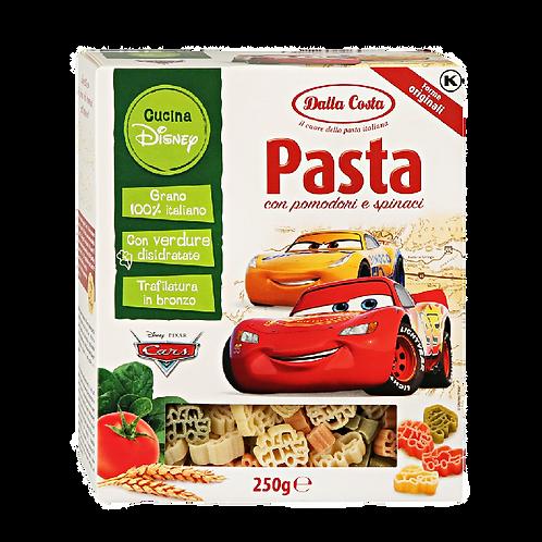Макаронные изделия Dalla Costa Disney «Тачки» со шпинатом и томатами, 250 г
