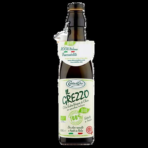 Масло оливковое Costa d'Oro «IL Grezzo Bio» Extra Virgin, 500 мл