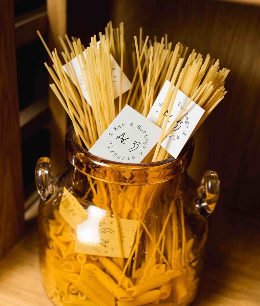 Паста декоративная спагетти AL33. Ресторан-пиццерия