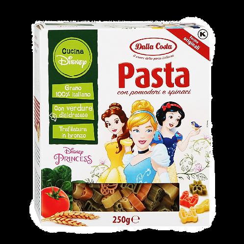 Макаронные изделия Dalla Costa Disney «Принцесса» со шпинатом и томатами, 250 г