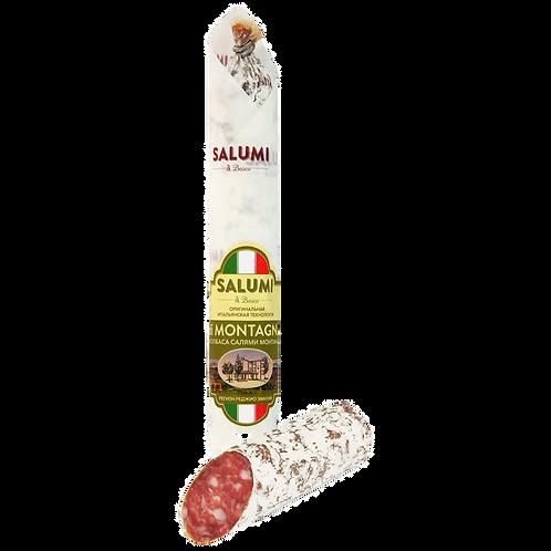 Колбаса Salumi Di Bosco «Салями Монтанья» сыровяленная полусухая, 200г
