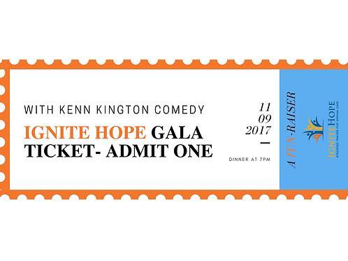 Ignite Hope Gala Table Sponsor