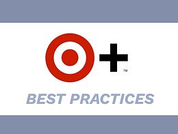 Target Plus Best Practices