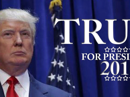 Why I Support Donald J. Trump For President