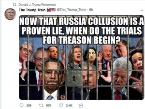 Trump Russia Tweet : We Are Ready!