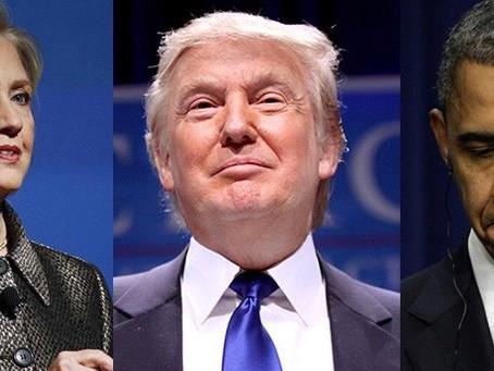 Three Probabilities For The Presidential Election Outcome Clinton Trump Obama