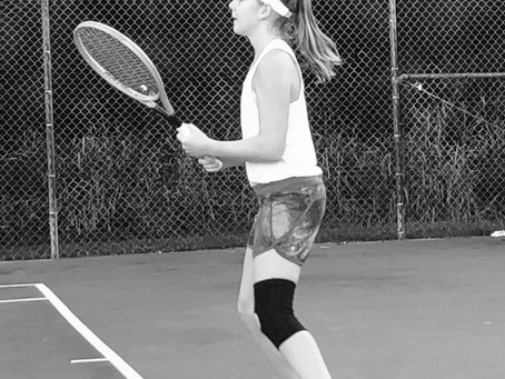 What does tennis talent mean?