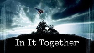 In it together banner, battle