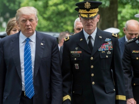 Martial Law and Military Tribunals Trump Takes on the Deep State
