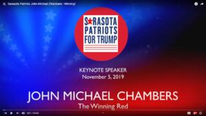 John Michael Chambers The Winning Red