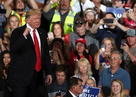 Primaries and the Mid-Term Election Supporting President Donald Trump
