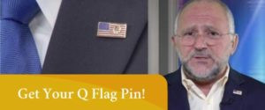 Get your Q flag pin