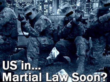 Martial Law Preparedness And Forecast