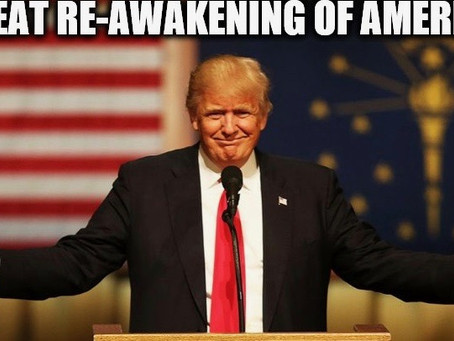 It's Happening – Trump And The Great Awakening