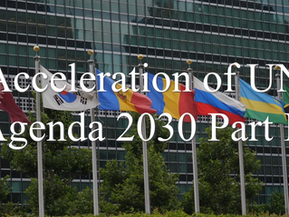 UN Agenda 2030 Part II