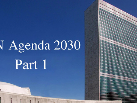 Acceleration of UN Agenda 2030 Part I