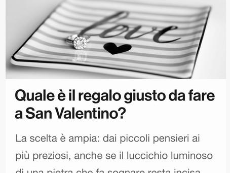Qual'è il regalo giusto da fare a San Valentino?