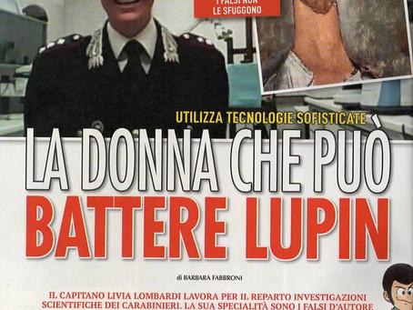 La donna che può battere Lupin