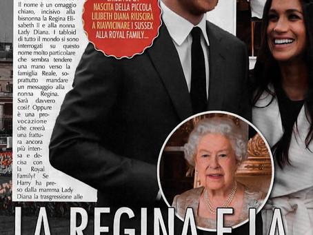 La Regina e a nuova Diana