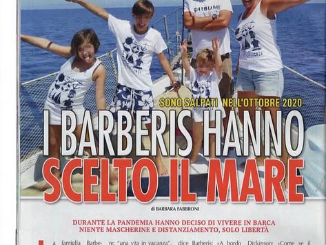 I Barberis hanno scelto il mare