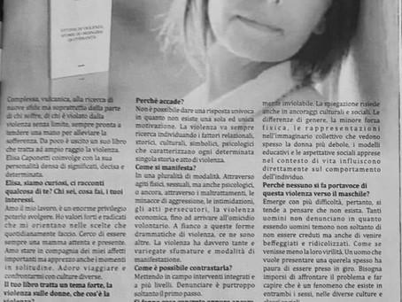 Elisa Caponetti: il mio libro. Vittime di violenza