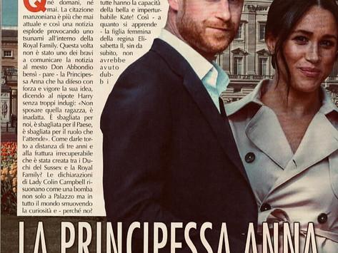 La Principessa Anna sapeva già tutto