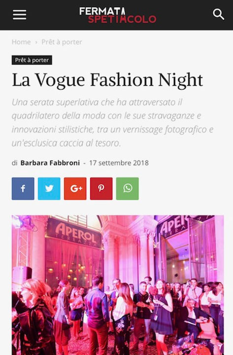 La Vogue Fashion Night