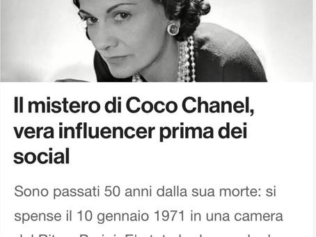 Il mistero di Coco Chanel, vera influencer prima dei Social