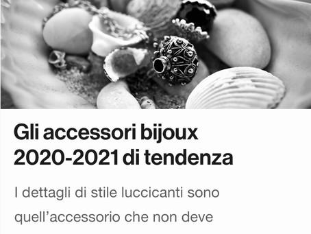 Gli accessori bijou 2020-2021