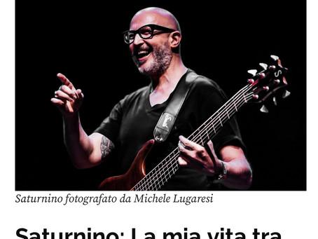 Saturnino: la mia vita tra chitarra e occhiali