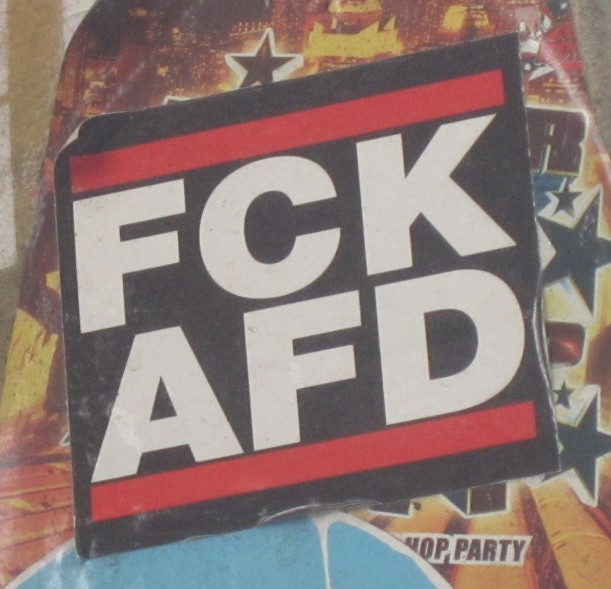Fuck Afd sticker