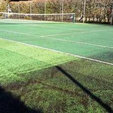 Tennis Court Before