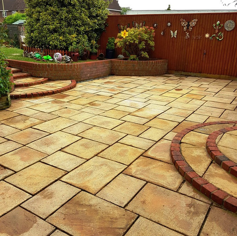 PatioAfter Cleaning