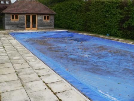 Soiled Pool Suround