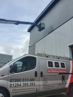 High access work with our inhouse IPAF operators