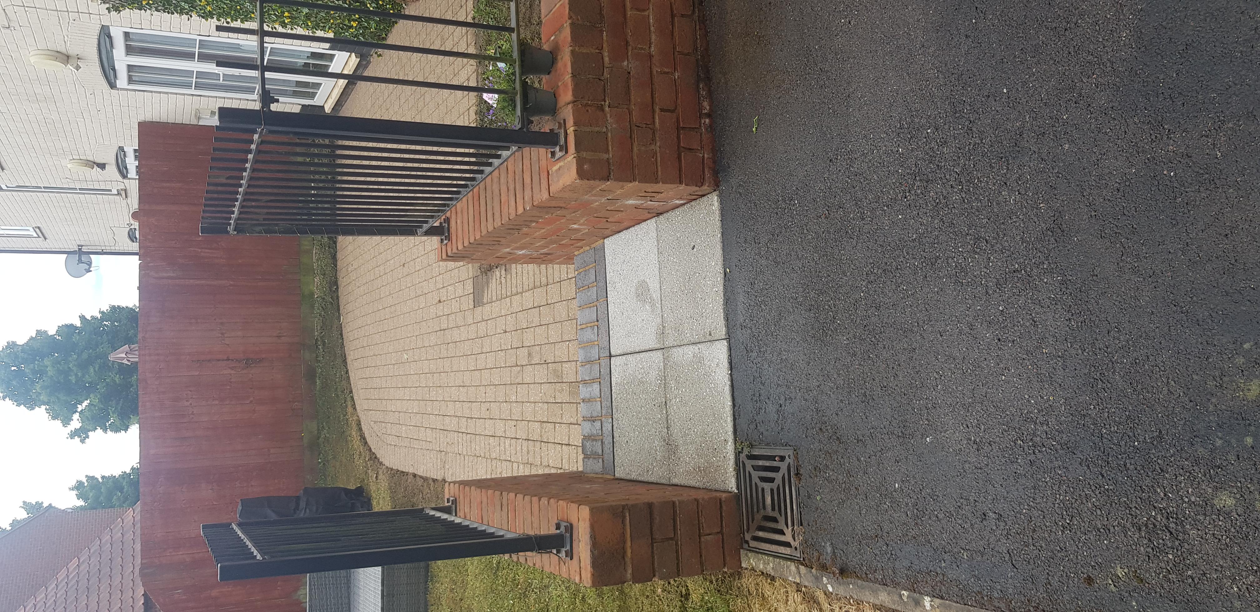 Low Pressure Steam Clean of Block Paving and Brickwork
