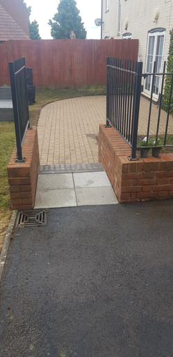 Low Pressure Steam Clean of Block Paving and Brickwork