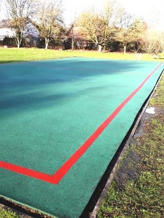 All weather school pitch