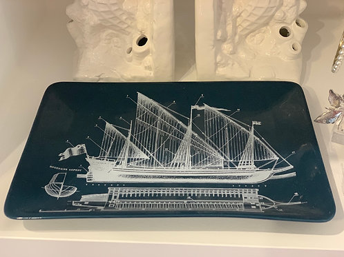 Nautical plate 25cm