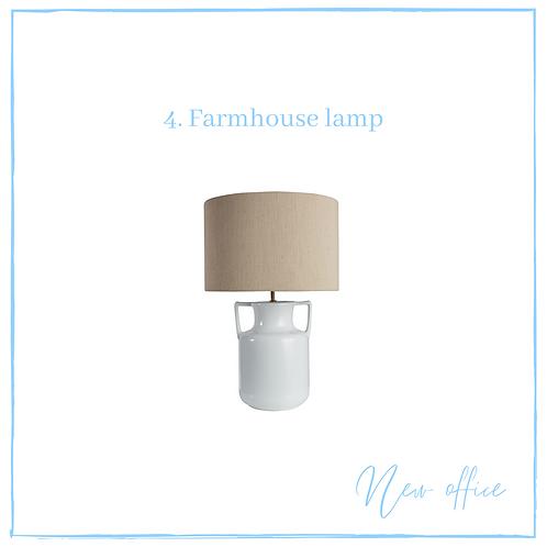 Farmhouse lamp