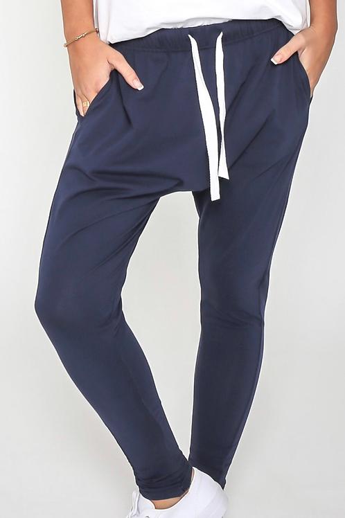 Navy lounge pants -SALE-