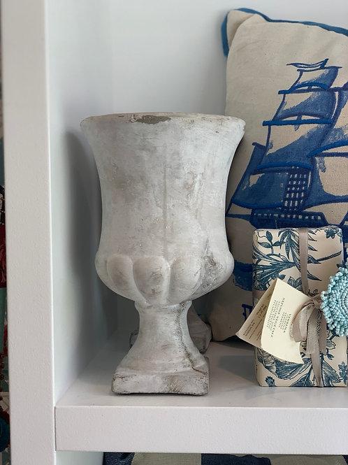Grey vase  cement look